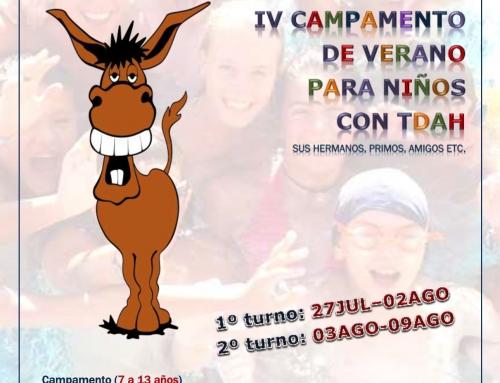 IV FAHYDA CAMP 2015: Campamento Terapéuticos de verano en Andalucía