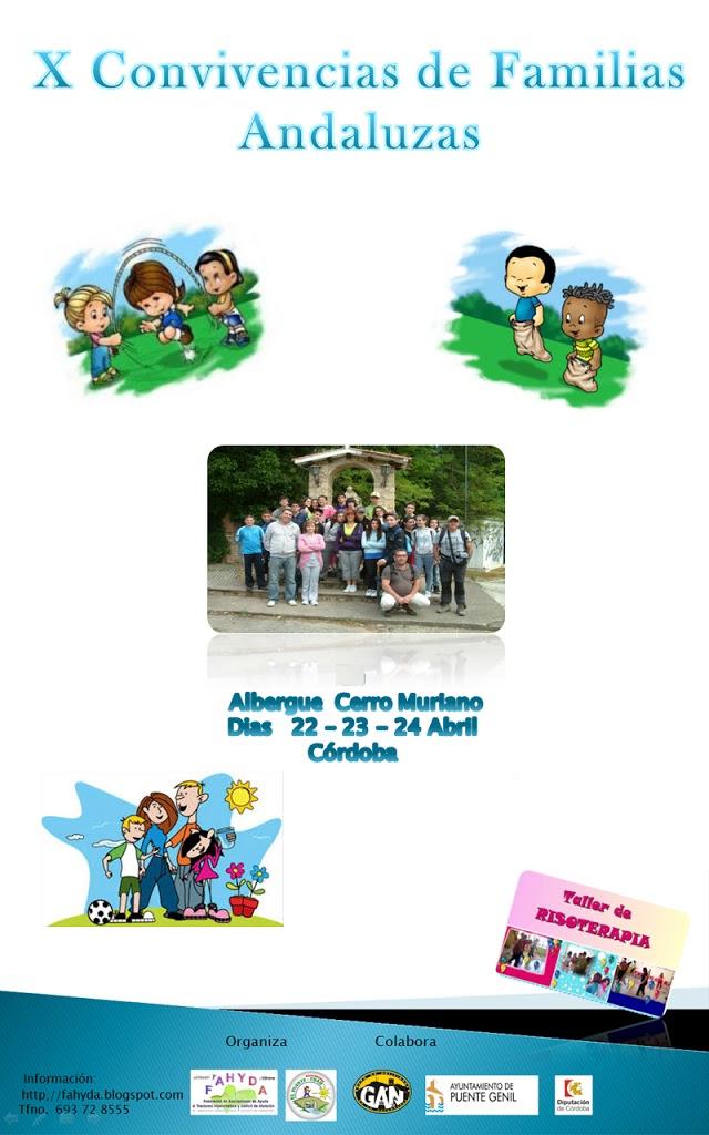X CONVIVENCIAS DE FAMILIAS ANDALUZAS