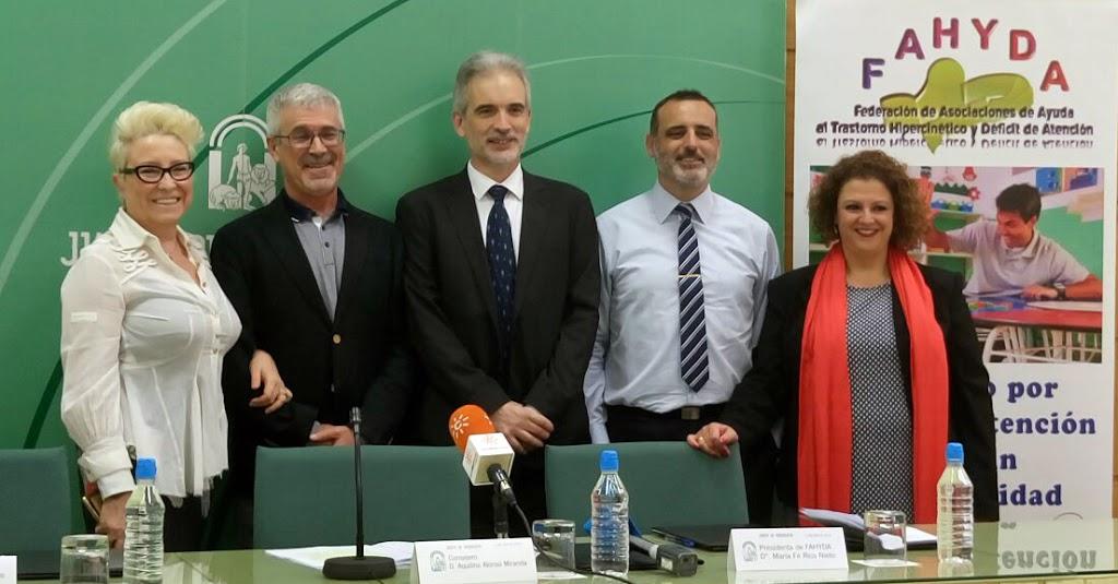 Salud y FAHYDA firman un convenio para desarrollar un Protocolo de atención integral a personas con Trastorno por Déficit de Atención e Hiperactividad