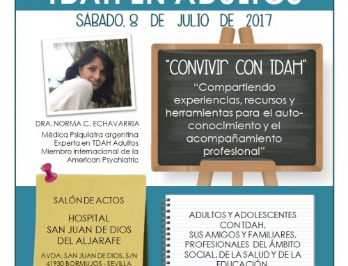"""Conferencia """"Convivir con el TDAH"""""""